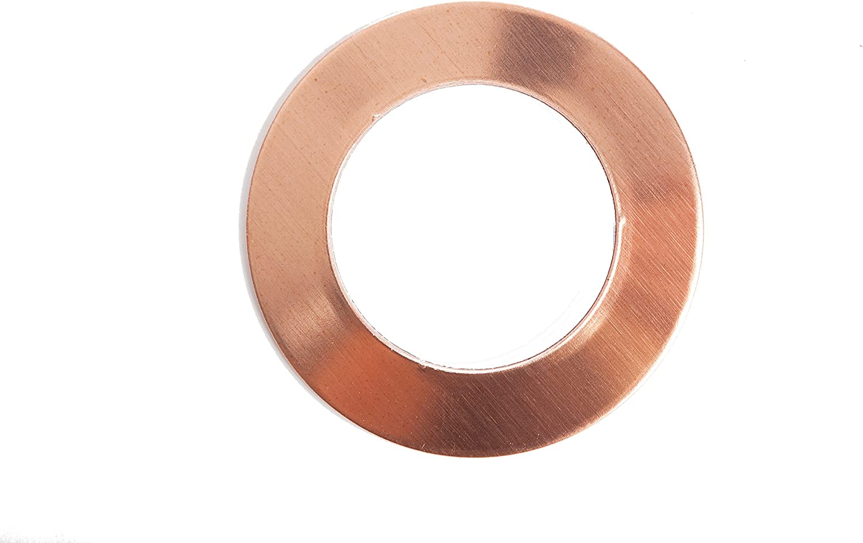 "Copper Sheet Plate .021/"" 16oz 24 gauge 24/"" x 36/"""