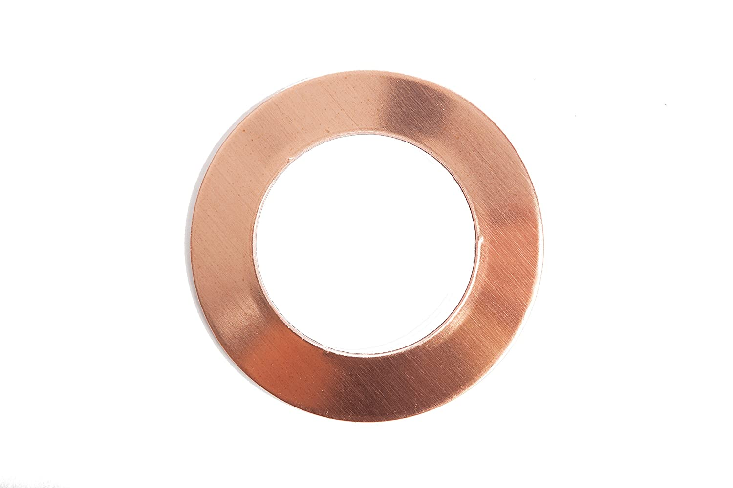 RMP Stamping Blanks, 1 Round Washer, 16 Oz. Copper, 24 Ga., - 10 Pack 1 Round Washer Rose Metal Products 4336835250
