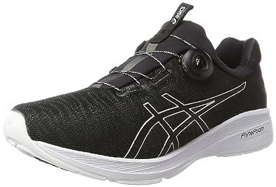 Asics Dynamis, Chaussures de Running Homme, Multicolore (Carbon/Black/White), 41.5 EU