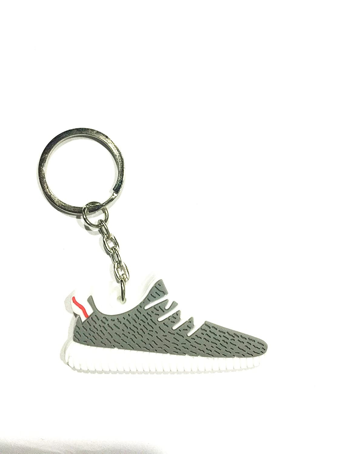 Amazon.com : Cute Silicone Yeezy 350 Boost Key Chain Sneaker ...