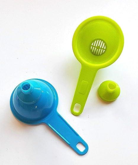 Happyfriends 92024 - Colador embudo plástico  Amazon.es  Hogar 05f5764bdbcc