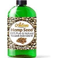 Artizen 100% Pure Hemp Seed Oil (Huge 4 OZ Bottle) All-Natural Hemp Oil – Cold Pressed - Perfect Moisturizer for Dry Skin - Extracted from Cannabis Sativa