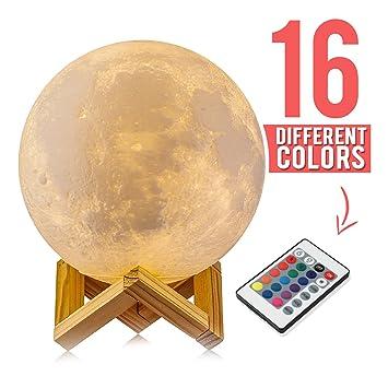 Amazon.com: Alba experiencia Luz Nocturna Impresión 3d led ...