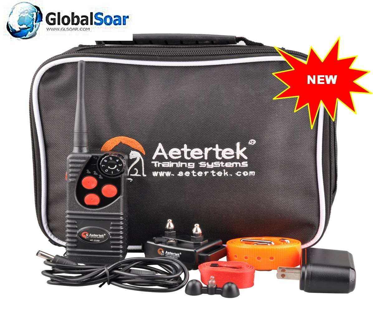 Aetertek 216D-550S-1 600 Yard 1 Dog Training Anti Bark & Waterproof Collar by Aetertek