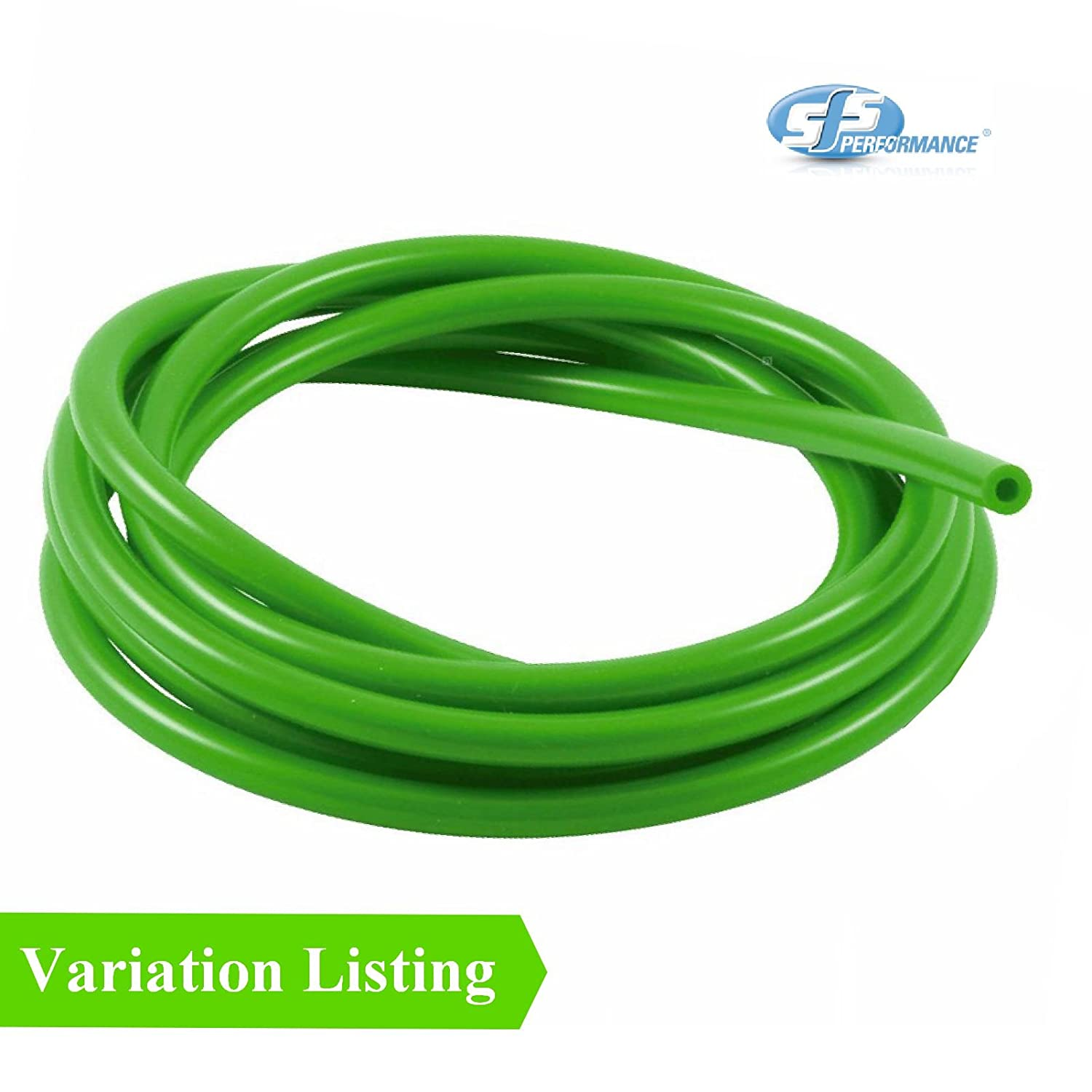 1 Metre Green Silicone Vacuum Hose Turbo Rubber Tube Air Water Pipe 3mm