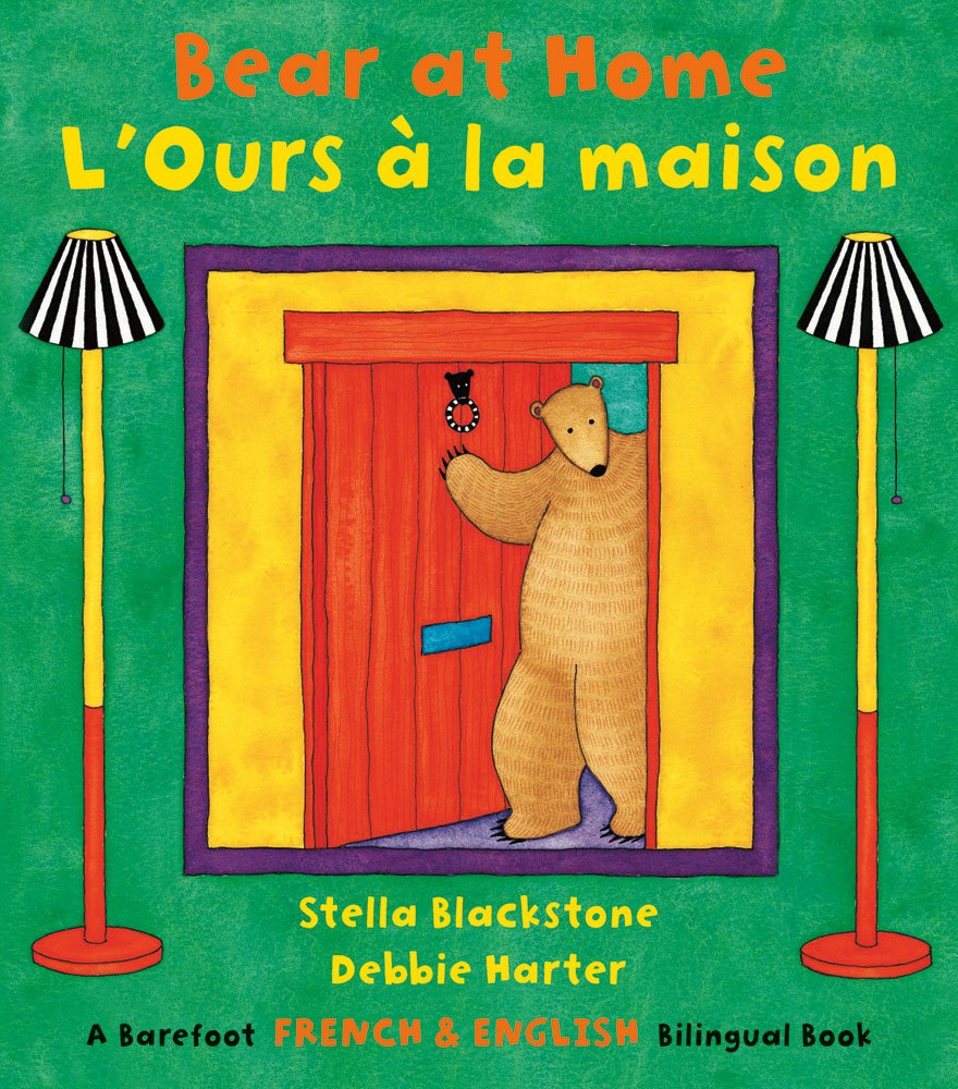 Bear at Home (Bilingual English/French) (Multilingual Edition) (French Edition)