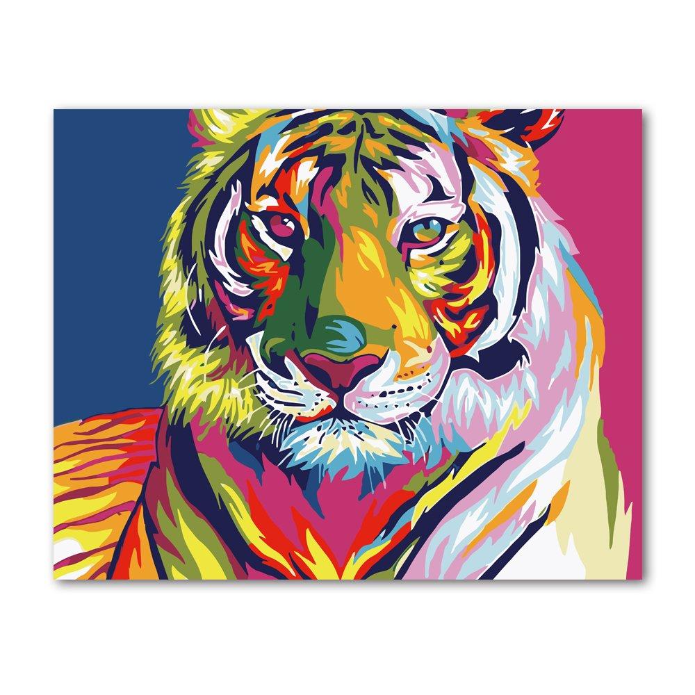 Pintura por Numeros (18626009) tigre 16x20