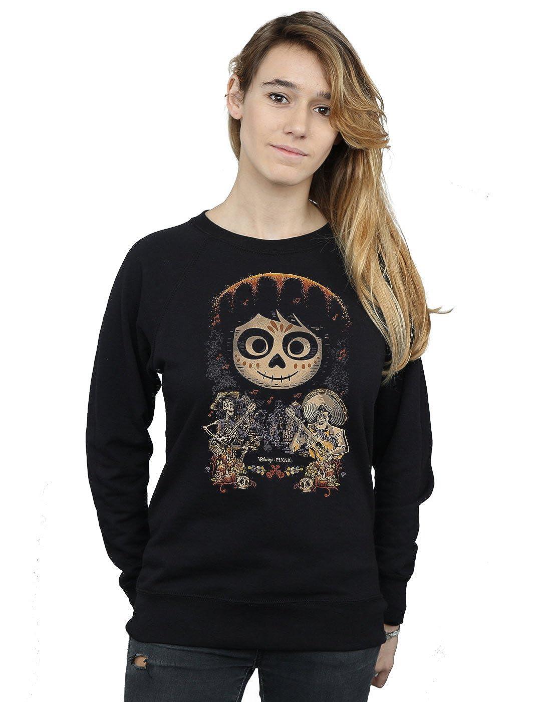 Disney Mujer Coco Miguel Face Poster Camisa De Entrenamiento