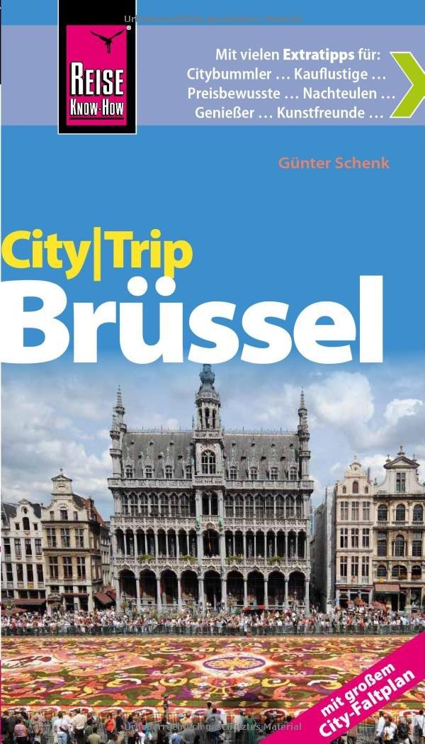 Reise Know-How CityTrip Brüssel: ReiseführermitFaltplan