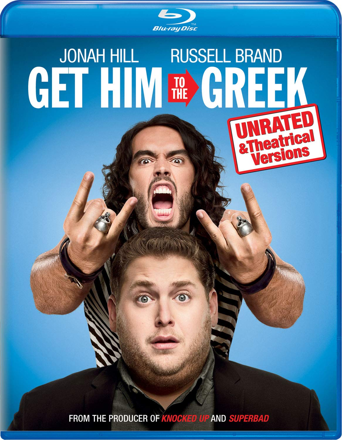 Blu-ray : Get Him To The Greek (Unrated Version)