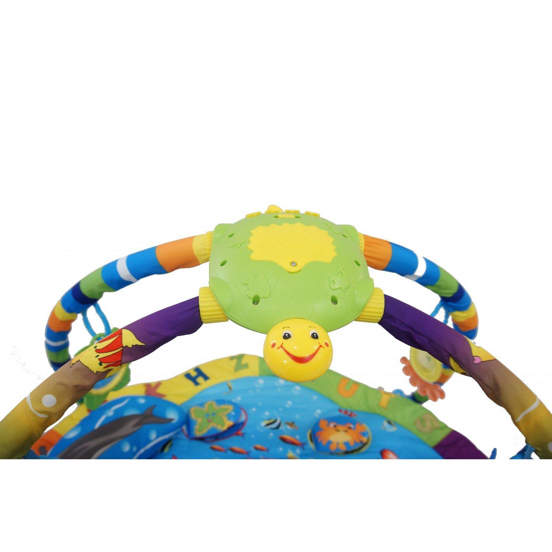 dc8d411b895304 Monsieur Bébé Tapis déveil éducatif et musical + jouets - Trois modèles -  Norme EN 71 EGK