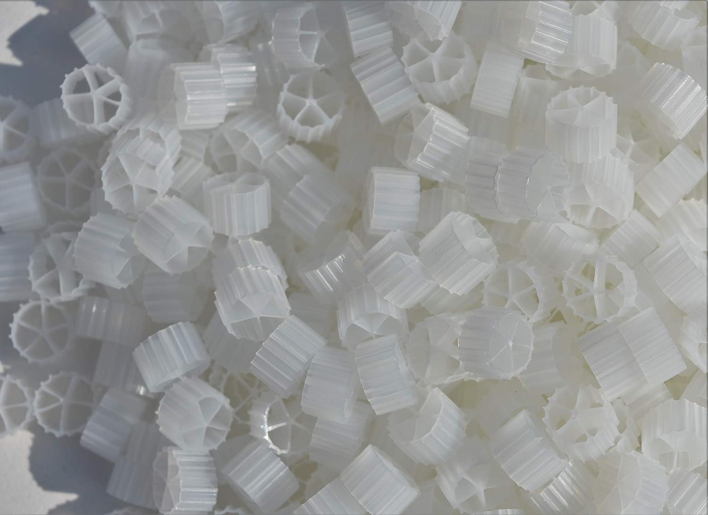 1 Cubic Foot Aquaponics Aquaculture Hydroponics Ponds Aquariums Wholesale Koi Farm 1 Cubic Foot K2 Filter Media Moving Bed Biofilm Reactor MBBR