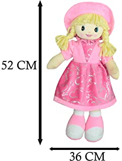 d8eca2eb842 REMI INTERNATIONAL SOFT TOYS for Kids Baby Soft Doll with Cap (Light Pink)