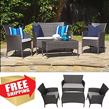 Patio Furniture Dining Sets,Outdoor Patio Furniture Sets,Deep Seating Patio,Wicker  Set