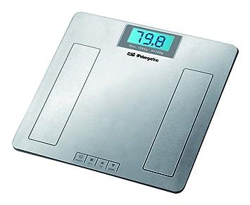 Orbegozo PB 2230 Bascula de baño electrónica, Acero Inoxidable: Amazon.es: Salud y cuidado personal