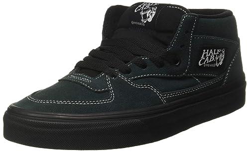 75b90ee3154c3 Vans Uomo Darkest Spruce Verde Nero Half Cab Sneaker-UK 7  Amazon.it  Scarpe  e borse