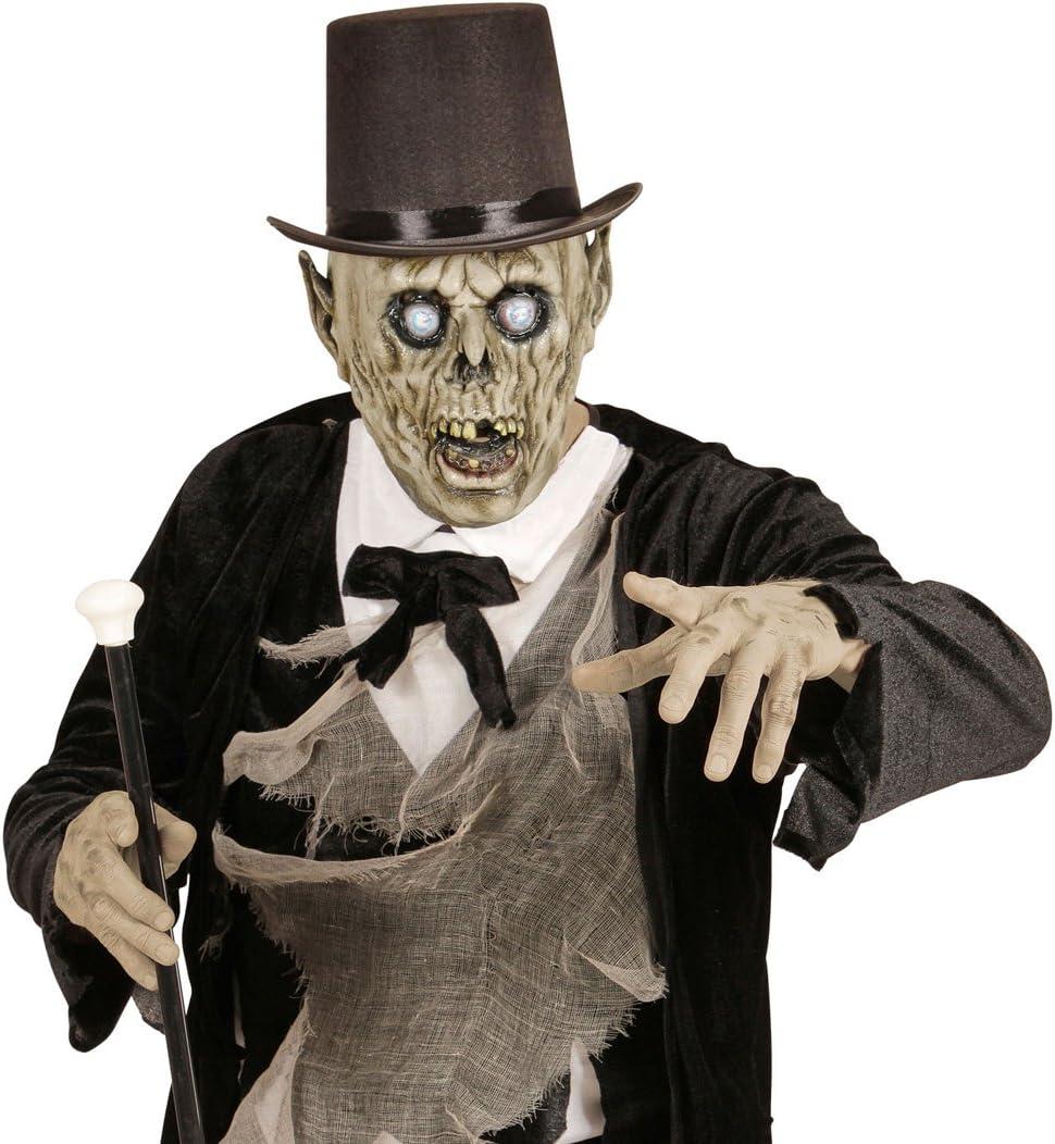 NET TOYS Máscara terrorífica de Zombie Antifaz látex psico ...