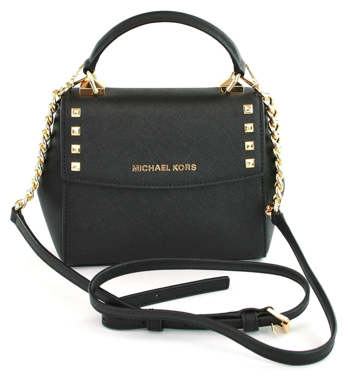 dbca2aaa3 Michael Kors Karla Mini Convertible Crossbody Bag (Black): Handbags:  Amazon.com