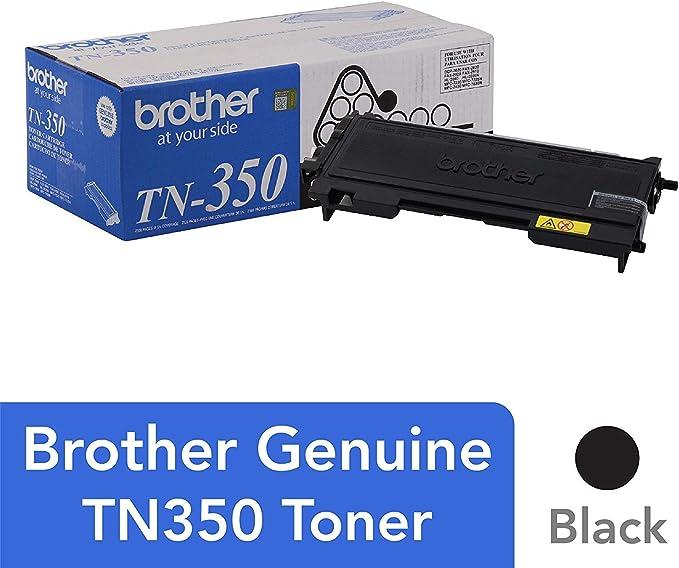 Brother TN-350 - Cartucho Tóner: Amazon.es: Oficina y papelería
