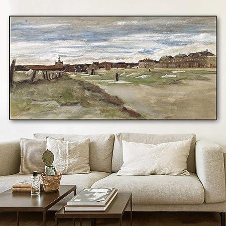 RTCKF Van Gogh Famosa Pintura al óleo impresión ...