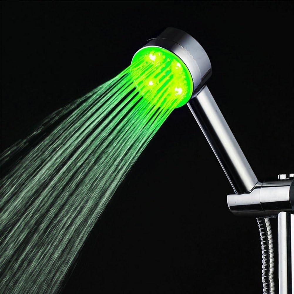 Rovtop Pommeau de douche /à haute pression /à /économie deau 7 couleurs changeantes