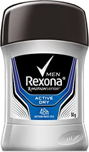 Antitranspirante Rexona Men Active Dry en barra 50 g
