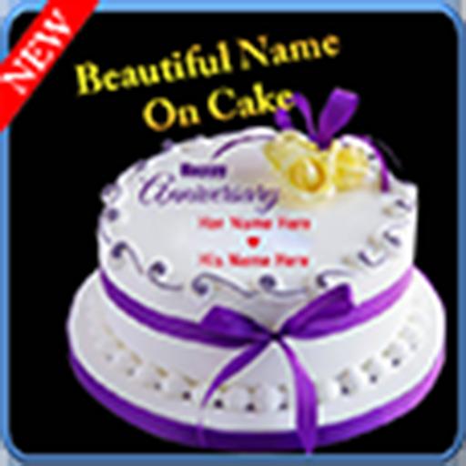 Birthday Cake With Name And Photo.Amazon Com Write Stylish Name On Birthday Cake Appstore