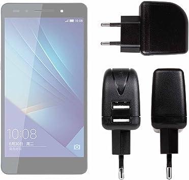 DURAGADGET Cargador con Enchufe Europeo para Smartphone Huawei ...