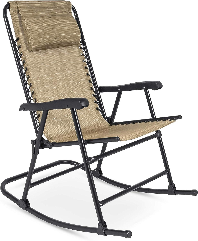 Rocking zero gravity recliner chair.