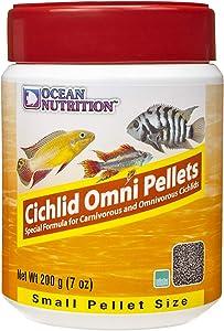 Ocean Nutrition Cichlid Omni Pellets 7-Ounces (200 Grams) Jar - Small Pellet Size