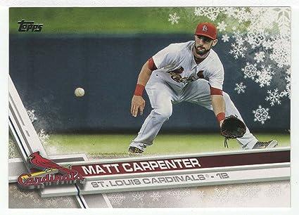 Amazoncom Matt Carpenter Baseball Card 2017 Topps Walmart