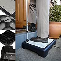 Anti Slip Half Step Elderly & Disability Door Walking Stool for Outdoor Mobility Aid by Crystals®