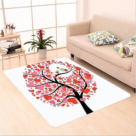 Amazon.com: Nalahome Custom carpet ds in the Tree Flirting Greeting ...