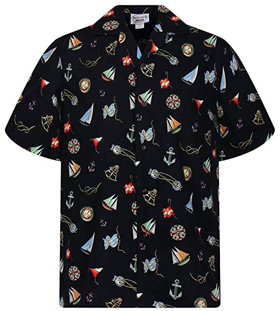 Pacific Legend | Original Camisa Hawaiana | Caballeros | S - 4XL ...
