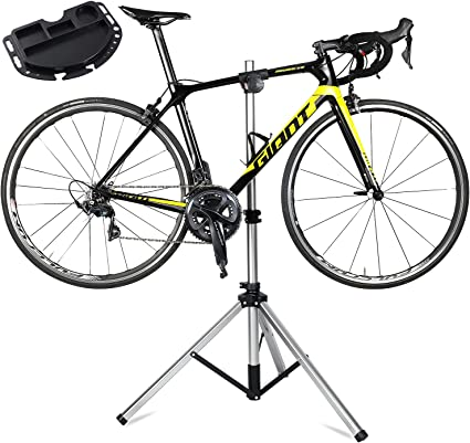 Details about  /Home Mechanic Bicycle Mountain Bike Repair Stand Foldable Repair Rack Adjustable