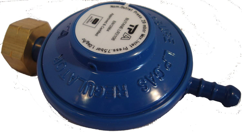Silverline Butane Clip-on régulateur 29 mbar