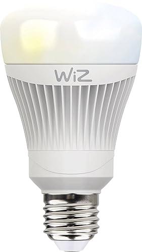 Bombilla LED WiZ inteligente con conexión WiFi y luz blanca. Regulable, 64.000 tonos de