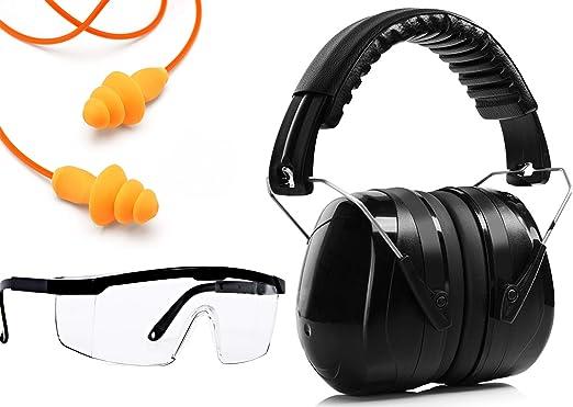 Ear Plugs Noise Cancelling Reusable Shoot Guns Pro Hearing Protection Earbud Set