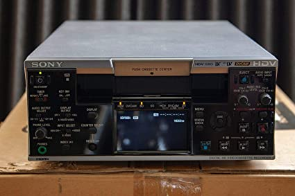 sony HVR-M25u HD miniDV video cassette recorder player