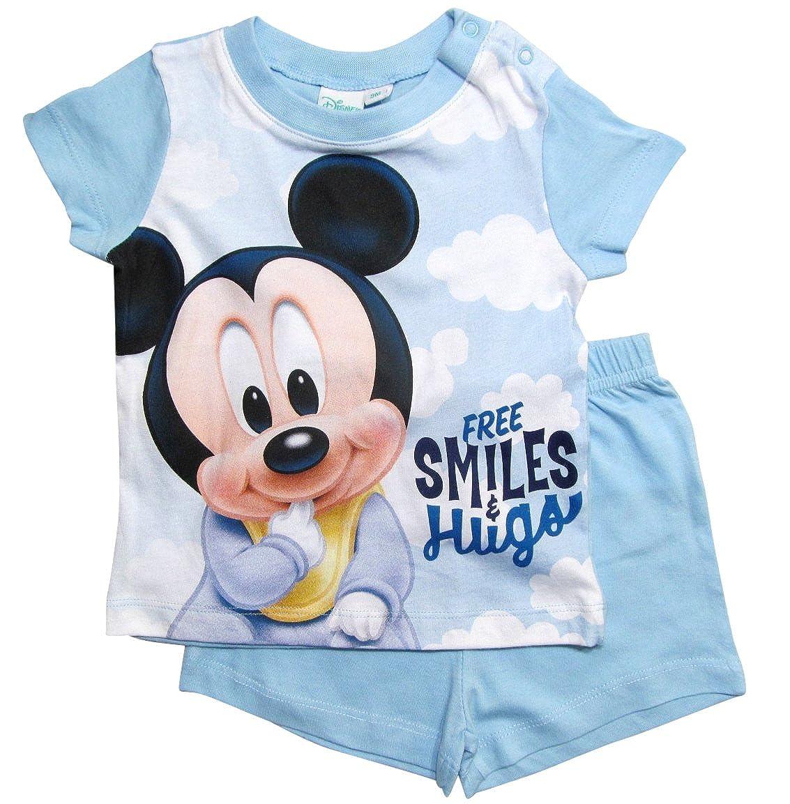 gar/çon 0 /à 24 mois Rouge Rot 80 cm-86 cm; Prime Mickey Mouse Ensemble de pyjama B/éb/é