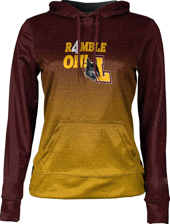 Ombre Loyola University Chicago March Basketball March Basketball Final Girls Pullover Hoodie School Spirit Sweatshirt