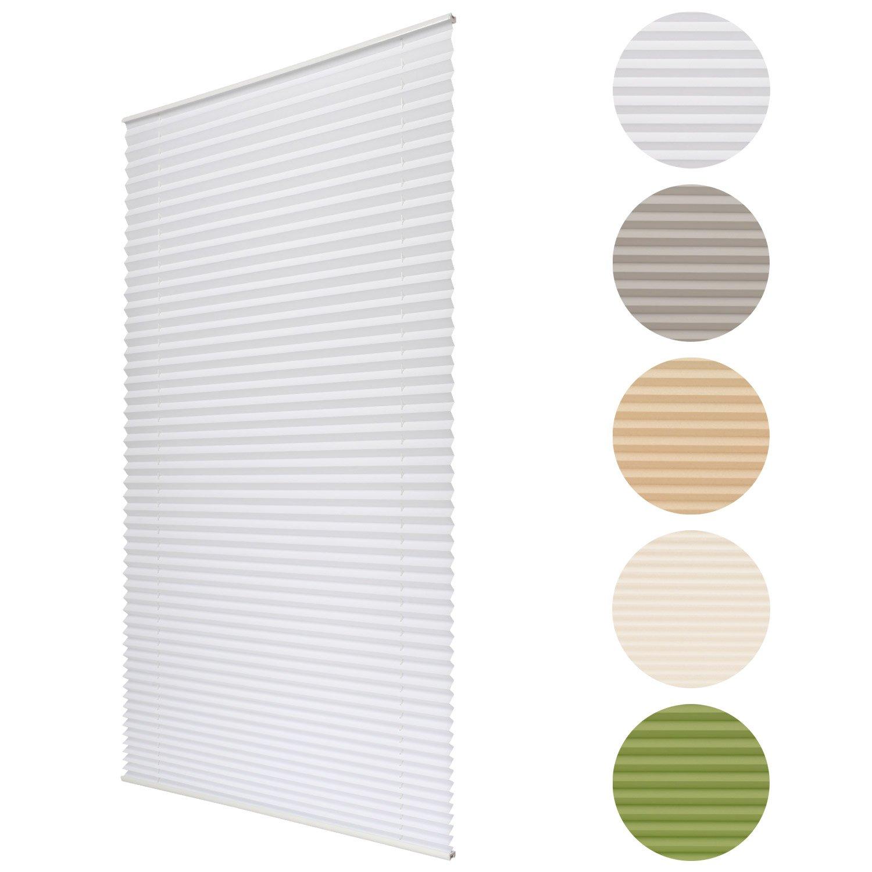 klemmrollos plissee affordable plissees ohne for bohren x. Black Bedroom Furniture Sets. Home Design Ideas