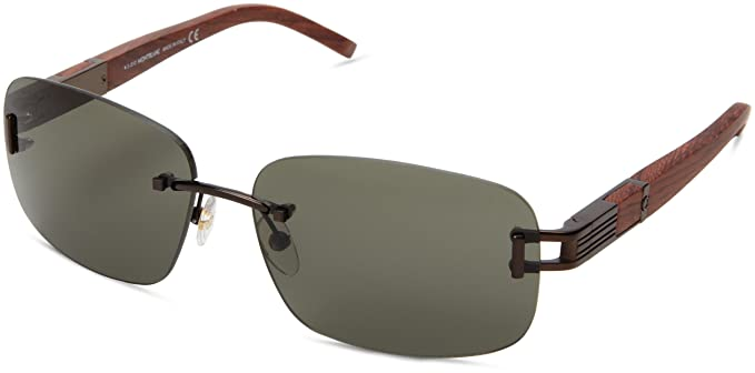 Montblanc Mont Blanc Sunglasses Mb408S 49N-60-14-135 Gafas ...