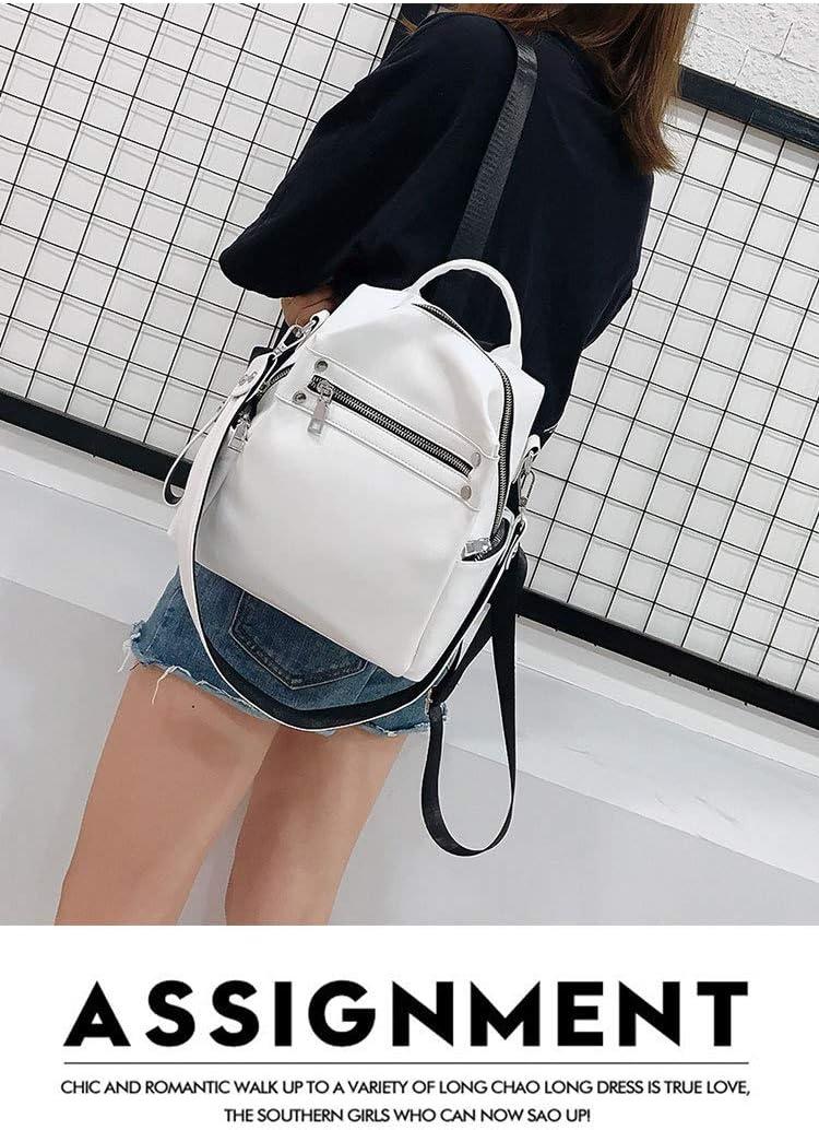 SUNQQC Frauen Rucksack weibliche Neue umhängetasche mehrzweck Casual Fashion Damen kleinen Rucksack Reisetasche für mädchen Rucksack White