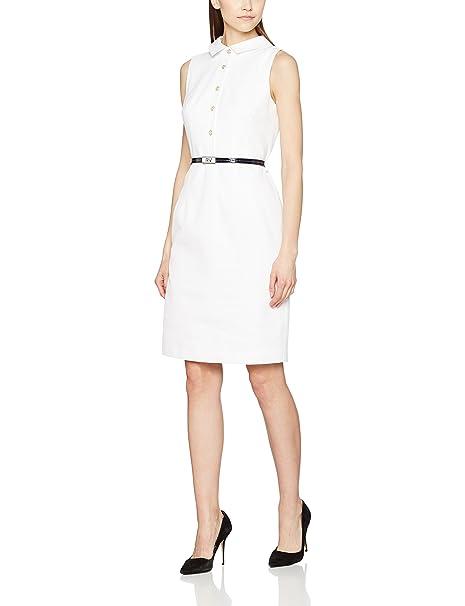 Roberto Verino 13305332206, Vestido Formal para Mujer, Blanco, S