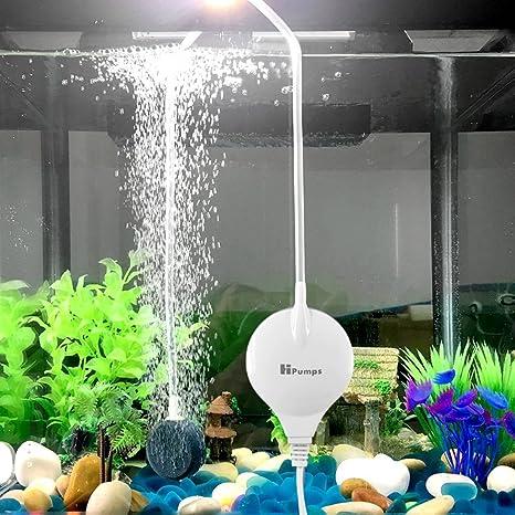 Chialstar Super Mini Bomba electromagnética de Aire Ultra-silencieuse, Bomba de oxígeno de Acuario