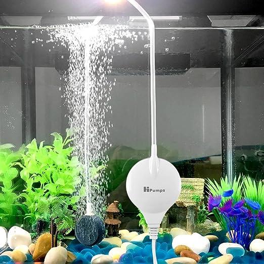 15 opinioni per Pompa d'aria per acquario, Chialstar ultra silenziosa a risparmio energetico