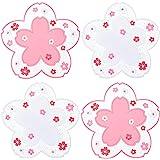 Kawaii Sakura Cup Coaster, Decor Cup Placemat, Cute Kitchen Pot Bowl Pad Placemat, Cherry Blossom Coaster, Table Cup Mat, Flo