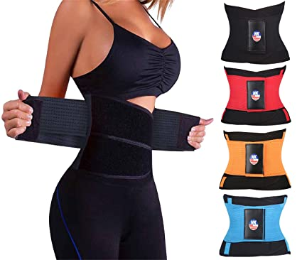 82fa973b743 LYZ Fitness Waist Trimmer Women Postpartum Corset Belt Slimming Belly Waist  Trainer Girdles Body Shapers Tummy Fat Burner at Amazon Women s Clothing  store