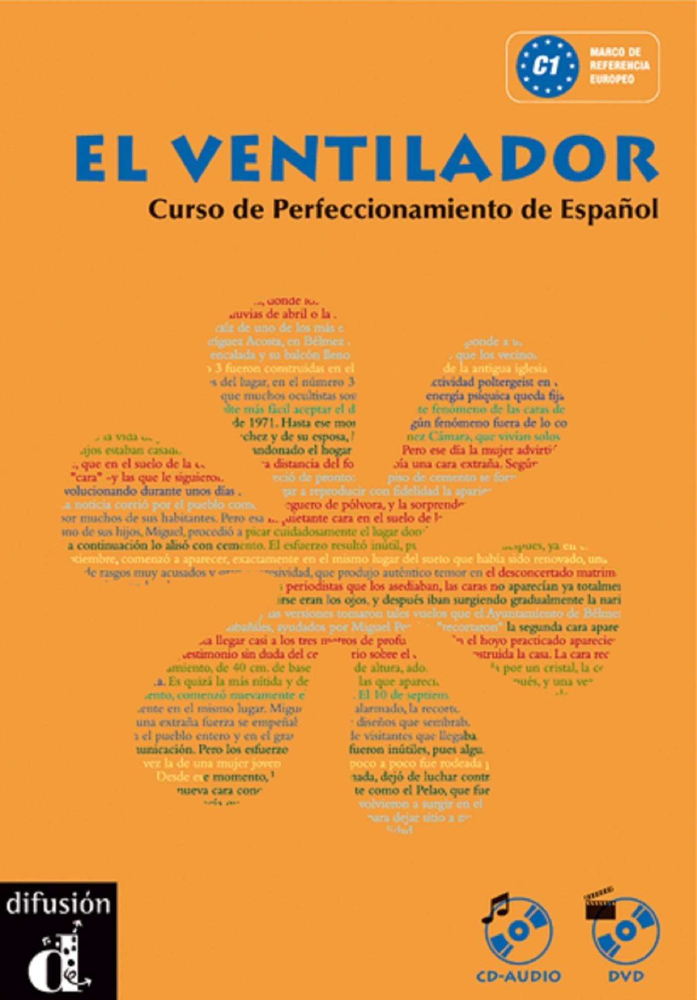El ventilador Libro del alumno + CD + DVD Ele - Texto Español ...